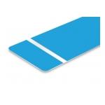 TroLase Foil 0,2 mm Világoskék/Fehér (2 réteg+öntapadó) 305 x 610 mm / 139690 (kültéri)