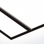 TroPly 0,8 mm Fehér/Fekete (2 réteg) 616 x 1245 mm / P204-203 (beltéri)