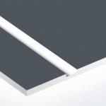 TroPly 0,8 mm Szürke/Fehér (2 réteg) 616 x 1245 mm / P312-203 (beltéri)