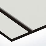 TroPly 0,8 mm Világosszürke/Fekete (2 réteg) 616 x 1245 mm / P324-203 (beltéri)