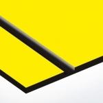 TroPly 0,8 mm Sárga/Fekete (2 réteg) 616 x 1245 mm / P744-203 (beltéri)