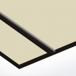 TroPly 0,8 mm Bézs/Fekete (2 réteg) 616 x 1245 mm / P854-203 (beltéri)