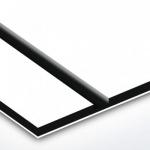 TroPly HiGloss 1,6 mm Fehér/Fekete/Fehér (3 réteg) 610 x 1238 mm / PH204-306 (kültéri)