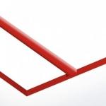 TroPly HiGloss 1,6 mm Fehér/Piros (2 réteg) 610 x 1238 mm / PH206-206 (kültéri)