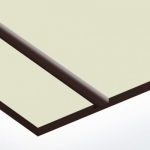 TroPly HiGloss 1,6 mm Törtfehér/Sötétbarna (2 réteg) 610 x 1238 mm / PH228-206 (kültéri)