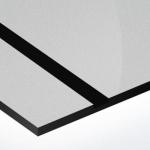 TroPly HiGloss 1,6 mm Ezüst/Fekete (2 réteg) 610 x 1238 mm / PH384-206 (kültéri)