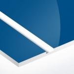 TroPly HiGloss 1,6 mm Kék/Fehér (2 réteg) 610 x 1238 mm / PH512-206 (kültéri)