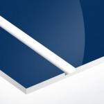TroPly HiGloss 1,6 mm Sötétkék/Fehér (2 réteg) 610 x 1238 mm / PH542-206 (kültéri)