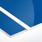 TroPly HiGloss 1,6 mm Zafírkék/Fehér (2 réteg) 610 x 1238 mm / PH562-206 (kültéri)