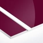 TroPly HiGloss 1,6 mm Bordó/Fehér (2 réteg) 610 x 1238 mm / PH632-206 (kültéri)