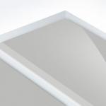 TroPly HiGloss Reverse 3,2 mm Víztiszta/Ezüst (2 réteg) 610 x 1238 mm / PHR370-209 (kültéri)