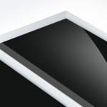 TroPly HiGloss Reverse 1,6 mm Víztiszta/Fekete (2 réteg) 610 x 1238 mm / PHR400-206 (kültéri)