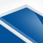 TroPly HiGloss Reverse 3,2 mm Víztiszta/Zafírkék  (2 réteg) 610 x 1238 mm / PHR560-209 (kültéri)