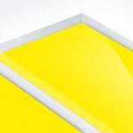 TroPly HiGloss Reverse 1,6 mm Víztiszta/Sárga (2 réteg) 610 x 1238 mm / PHR700-206 (kültéri)