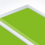 TroPly HiGloss Reverse 1,6 mm Víztiszta/Világoszöld (2 réteg) 610 x 1238 mm / PHR900-206 (kültéri)