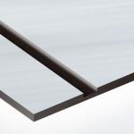 TroPly Metallic Plus 1,6 mm Szálhúzott Ezüst/Fekete (2 réteg) 616 x 1245 mm / PMT+334-206 (beltéri)