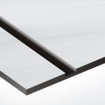 TroPly Metallic Plus 1,6 mm Szálhúzott Alu/Fekete (2 réteg) 616 x 1245 mm / PMT+354-206 (beltéri)