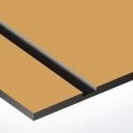 TroPly Metallic Plus 1,6 mm Arany/Fekete (2 réteg) 616 x 1245 mm / PMT+714-206 (beltéri)
