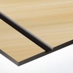 TroPly Metallic Plus 1,6 mm Szálhúzott Arany/Fekete (2 réteg) 616 x 1245 mm / PMT+734-206 (beltéri)