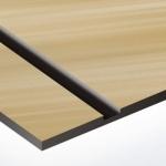 TroPly Metallic Plus 1,6 mm Sötétbronz/Fekete (2 réteg) 616 x 1245 mm / PMT+884-206 (beltéri)
