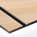 TroPly Metallic Plus 1,6 mm Szálhúzott Vörösréz/Fekete (2 réteg) 616 x 1245 mm / PMT+894-206 (beltéri)