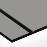 TroPly Satins 1,6 mm Szürke/Fekete (2 réteg) 610 x 1238 mm / PS304-206 (beltéri)