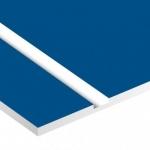 TroPly Satins 1,6 mm Kék/Fehér (2 réteg) 610 x 1238 mm / PS512-206 (beltéri)