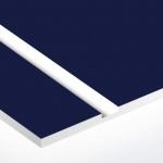 TroPly Satins 1,6 mm Sötétkék/Fehér (2 réteg) (Légierő kék) 610 x 1238 mm / PS532-206 (beltéri)