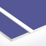 TroPly Satins 1,6 mm Lila/Fehér (2 réteg) 610 x 1238 mm / PS582-206 (beltéri)
