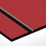 TroPly Satins 1,6 mm Piros/Fekete (2 réteg) 610 x 1238 mm / PS604-206 (beltéri)