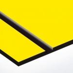 TroPly Ultra 1,6 mm Sárga/Fekete (2 réteg) 610 x 1238 mm / PU704-206 (kültéri)