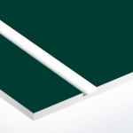 TroPly Ultra 1,6 mm Vadász Zöld/Fehér (2 réteg) 610 x 1238 mm / PU992-206 (kültéri)