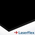 LaserFlex 0,1 mm LF400 Fekete - transzfer fólia lézergépekhez 297 x 420 mm (A3) / 65938