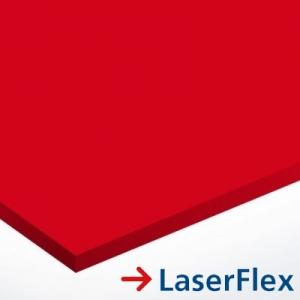 LaserFlex 0,1 mm LF600 Piros - transzfer fólia lézergépekhez 297 x 420 mm (A3) / 65942