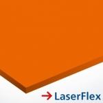 LaserFlex 0,1 mm LF612 Narancs - transzfer fólia lézergépekhez 297 x 420 mm (A3) / 65944