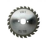 Varga Fűrészhez Karbid fűrésztárcsa 36T (120x20x1,7 mm) gravír' táblák darabolásához