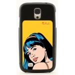 Galaxy S4 grip fekete  4371