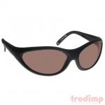 Lézer biztonsági szemüveg AGR (532/630-640 nm) látható vele a zöld lézer, mod. #35, fekete keret szürke üv.